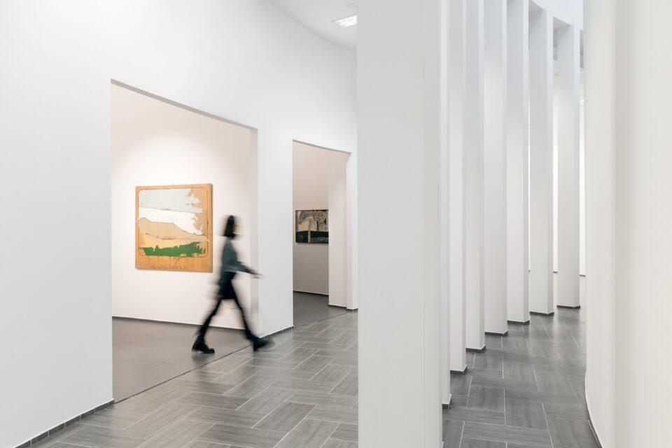 Sale del MACTE (Museo di Arte Contemporanea di Termoli)