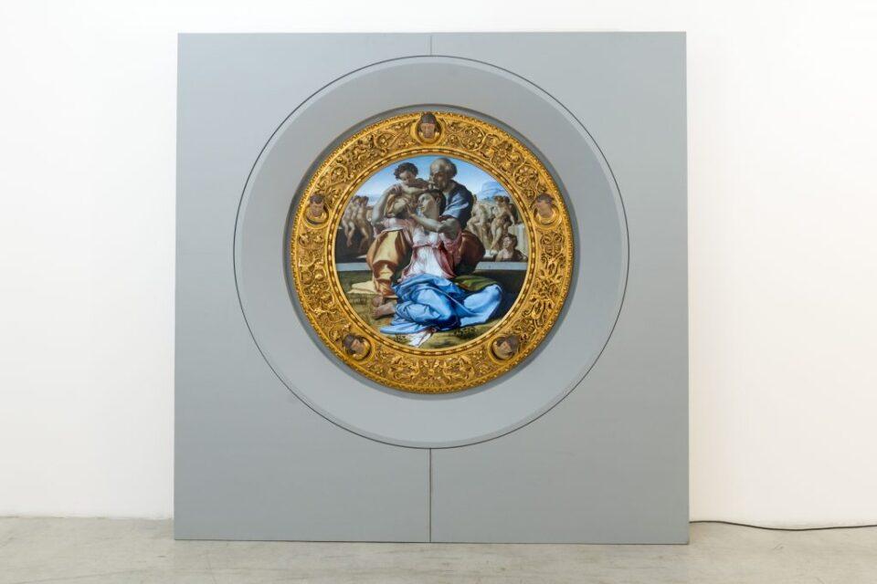 DAW raffigurante il Tondo Doni di Michelangelo.