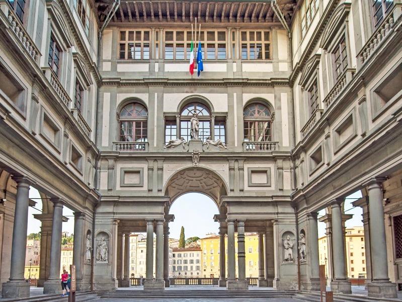 Gallerie degli Uffizi, Firenze.