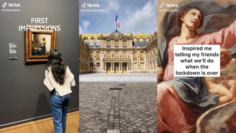 Alcuni frame della manifestazione #MuseumMoment